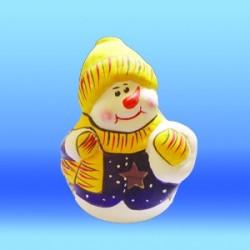 Снежен човек свещник