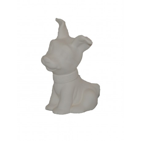 Куче с вдигнати уши